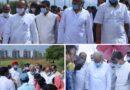 मुख्यमंत्री श्री भूपेश बघेल और विधानसभा अध्यक्ष डाॅ. चरणदास महंत ने आज नवा रायपुर में नये विधानसभा भवन के भूमिपूजन समारोह के बाद सेक्टर-24 का भ्रमण कर